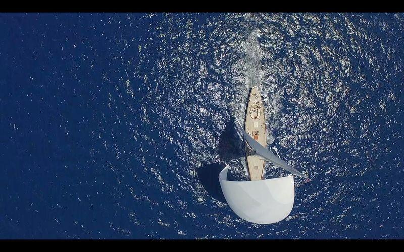 Spetses Classic Yacht Regatta Drone  Dronephotography Yacht Regatta