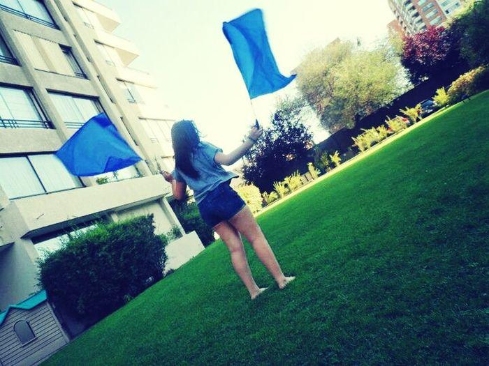 haciendo banderas*-*