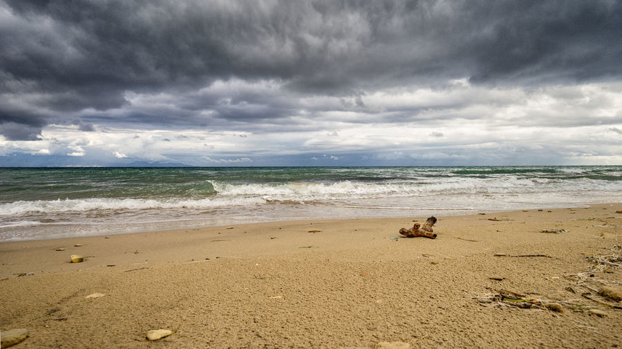 rainy days on the beach EyeEm Best Shots EyeEm Nature Lover EyeEmBestPics Open Your Mind Beach Cloud - Sky Outdoors Refelections Sea Tranquility Lost In The Landscape