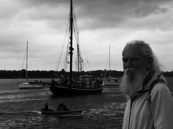 The harbor -