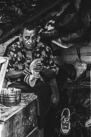 People Working Hard Indoors  Old Man Discipline Business Stories