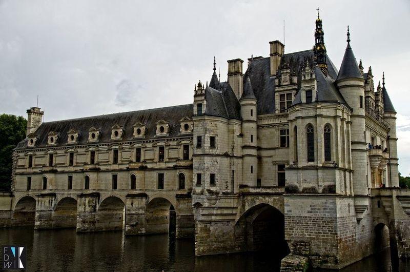 Chenonceau Château Castle France Fidiwik Architecture Château De Chenonceau History Histoire