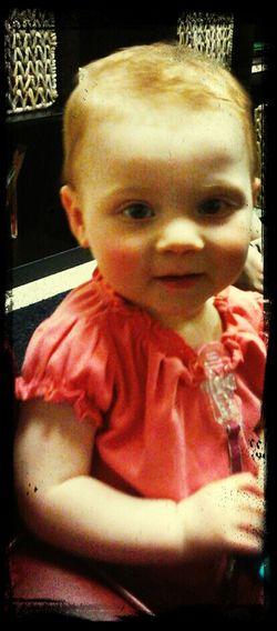 my baby girl so amazing!