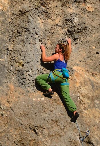 Break The Mold Rock Climbing Adventure Extreme Sports Climbing Rock - Object RISK Sport Rope Adult Only Women Strength Adults Only One Woman Only Danger High Angle View Activity Challenge Antalya Geyikbayırı Kayatirmanisi Turkey