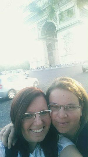 France Paris Vacation Arco Di Trionfo