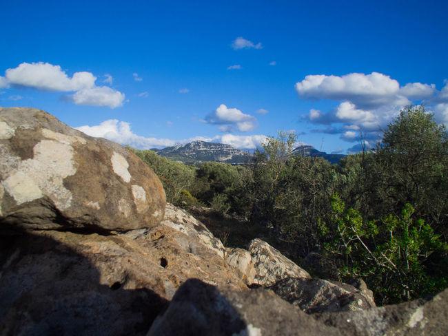 Dorgali Mountain Nature Nuraghe Outdoors Sardegna Sardinia Sky