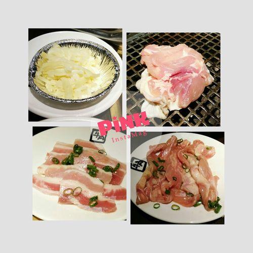 先烤一波 3~ ギュウカク Gyukaku 牛角 燒肉 牛角燒肉 Multiple Image Meat Plate Seafood Close-up Food And Drink