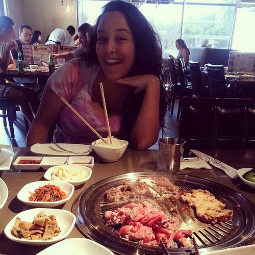Because she never craves korean bbq Craving FirstOfMany Armpithair