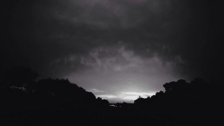 Blackandwhite Black And White Sunset Nature
