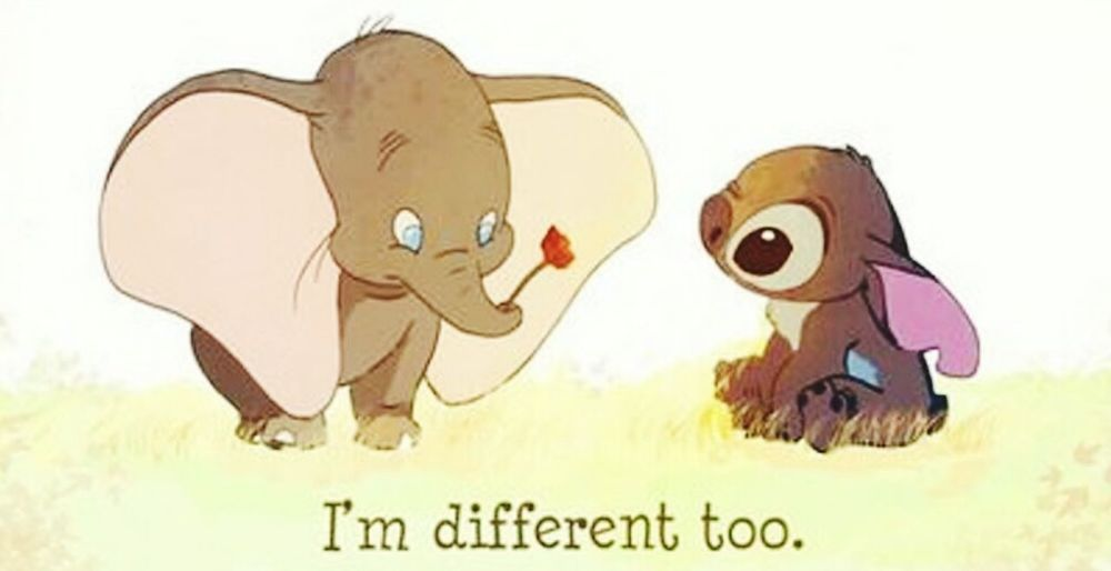 Everybody is different and it's okay🌈 Be Proud &'d Grateful ♥ Everybody Is Different Everybody Has A Story