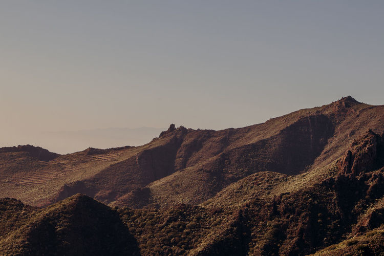 The textures of Tenerife Tenerife Tenerife Island Mountain Sky Scenics - Nature Tranquil Scene Beauty In Nature Tranquility Landscape Environment Clear Sky Nature No People Rock Mountain Range Non-urban Scene Remote Copy Space Rock - Object Outdoors Formation Arid Climate Climate Eroded