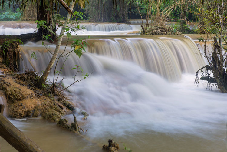 Water Long Exposure Motion Scenics - Nature Waterfall Flowing Water Beauty In Nature Tree Blurred Motion Nature Flowing Power In Nature Plant Power No People Forest Environment River Day Outdoors Rainforest Falling Water