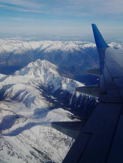 Под крылом самолета... Airplane Travel Flying Nature Sky Mountins Beauty Landscape красотарядом Природа путешествие самолет