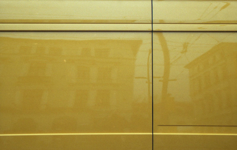 Minimalism is overrated. 35mm Film Abstract Automobile Exakta 3.5-4.5/35-70mm Film Photography Minimalism Monochrome Reflection Surface Yellow Art Is Everywhere