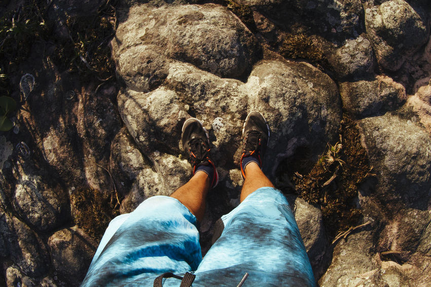 Day Hicking Mountains Human Foot Leisure Activity Lifestyles Morro Do Pai Inacio Chapada Diamantina! Morro Do Pai Inácio Nature Outdoors Part Of Personal Perspective Rock Rock Formation