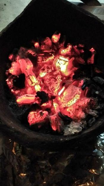 Burning Coals Fire Firewood Burnwood Burnt Wood