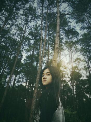 Won't you follow me into the jungle Xambassadors Jungle Asian Girl Xaiomi_photography Snapseed Picsart Edit