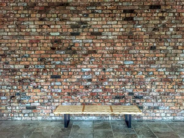 Take a seat. Up Close Street Photography Seat Bench Rest Brick Wall Wall Feature Eye4photography  Benches Urban Interior Design Simple Moment EyeEm Gallery Lines And Angles Wall - Building Feature Getty X EyeEm EyeEm Simplicity IPhone Check This Out Manchester