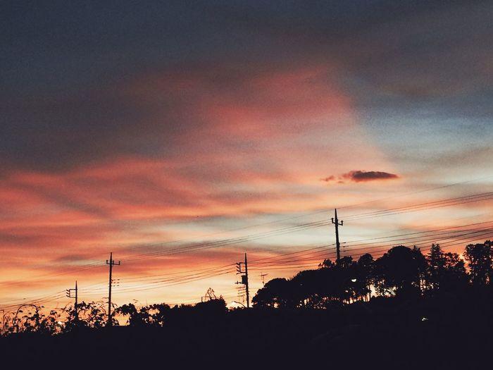 雲 Clouds 夕焼け 自然 Sunset ソラ Nature Sky 空