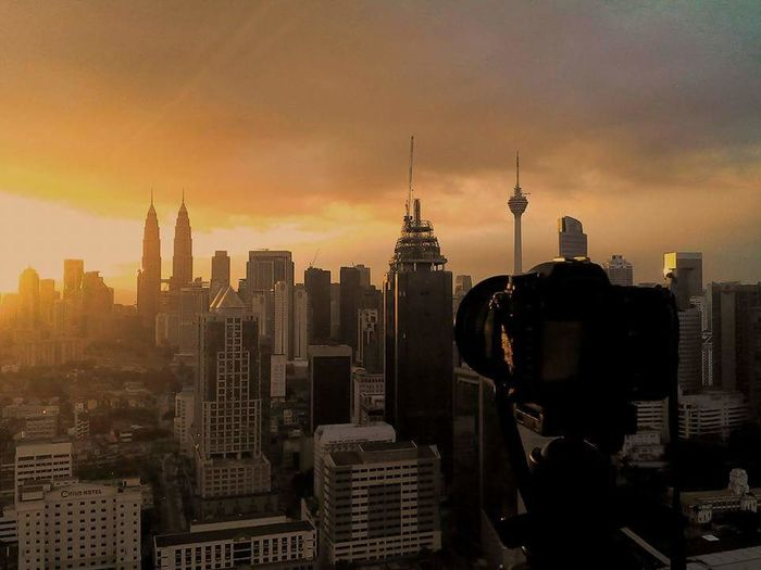 Good morning kuala lumpur Taking Photos Check This Out That's Me Hello World Relaxing Cheese! Hi! Hanging Out Enjoying Life View Hi! Passionate Clouds And Sky Background Beautiful Travel Vacation Twilight Landmark Sunshine Architecture Cityscapes Building Exterior