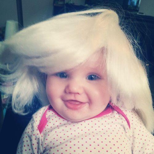 Big hair, don't care. Misscrt Nannylife Ilovehalloween