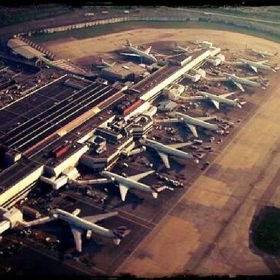 Heathrow Airport Terminal4 March 2013