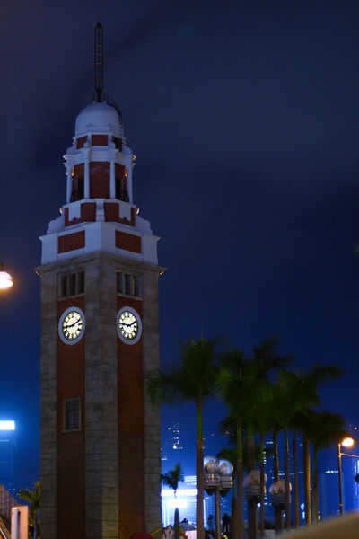Illuminated City Tower Building Exterior Architecture No People Outdoors Clock Architecture City Nightphotography Urban Exploration Tsim Sha Tsui Clock Tower Tsim Sha Tsui 尖沙咀 Neighborhood Map