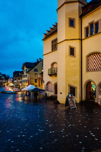 Architecture Building Exterior Built Structure City Night No People Outdoors Reflection Sky Sursee Travel Destinations Water Waterfront Wysamschtig Sursee