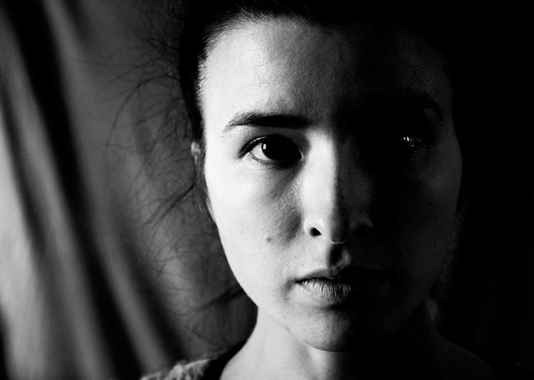 Maria Black & White Black And White Black And White Collection  Black And White Photography Black And White Portrait Black&white Blackandwhite Blackandwhite Photography Blackandwhitephotography Close-up Contemplation Darkroom Domestic Life Focus On Foreground Girl Headshot Human Face Indoors  Innocence Leisure Activity Lifestyles Person Portrait Woman Young Adult The Portraitist - 2017 EyeEm Awards