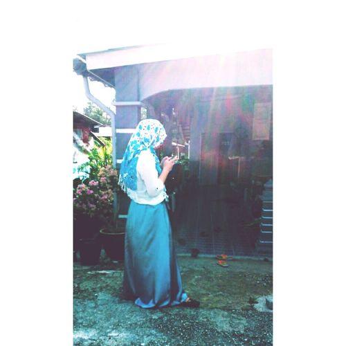 Happyfriday♥ HomeSweetHome🏠 OOTD♥ Bluewhite🐼