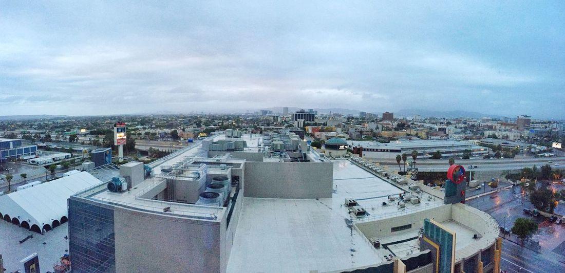 Los Angeles, California Losangeles L.A. Downtown DowntownLA Skyline Sunrise Architecture Building