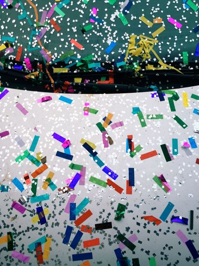 Abstract image of multi colored background