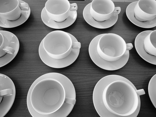 Blackandwhite Black And White Time For Breakfast  Throw A Curve Liquid Lunch Everything In Its Place
