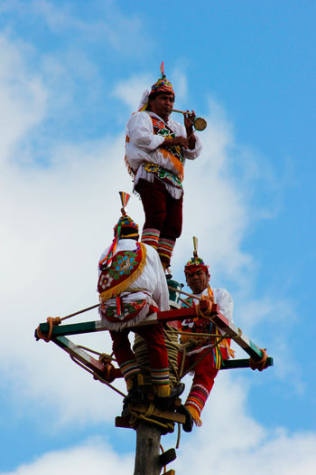 Voladores De Papantla Teotihuacan Hello World Taking Photos Mexico