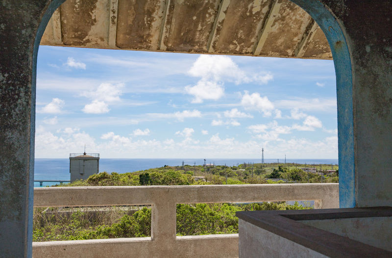 Holiday Okinawa Vacations Architecture Beauty In Nature Building Exterior Built Structure Cloud - Sky Day Horizon Over Water Indoors  Island Miyakojima Nature No People Scenics Sea Sky Summer Sunlight Tranquil Scene Tranquility Tree Water Window
