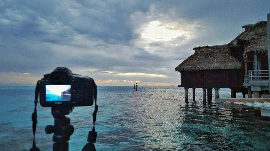 Hilton Hotel Bora Bora.