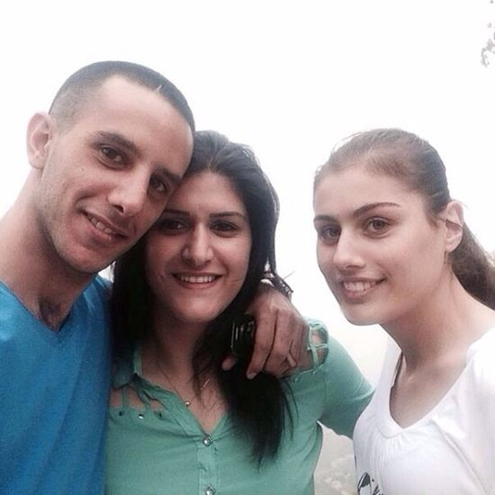 Yesterday Had  So Much Fun With Le  Bro Sam And Sis Synthia Mar Charbel Anaya ❤️❤️ love you guys