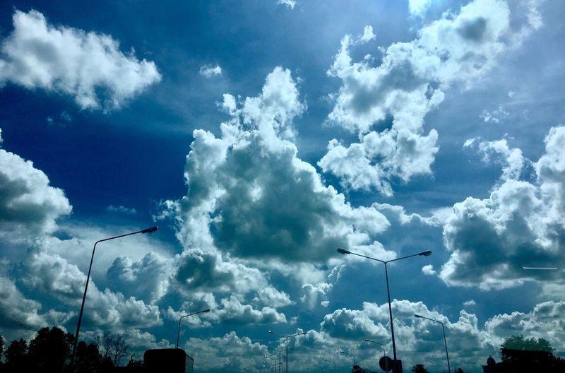 Sky in tha roads
