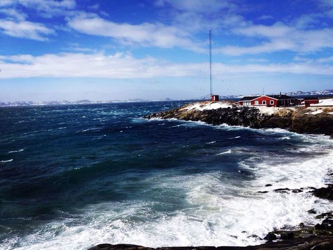 While rest of my eyem Friends had spring fotos, i've only have stormy pictures😱😂 Stormy Weather Sea View Sea Side The Real Greenland Wonderfuld Greenland