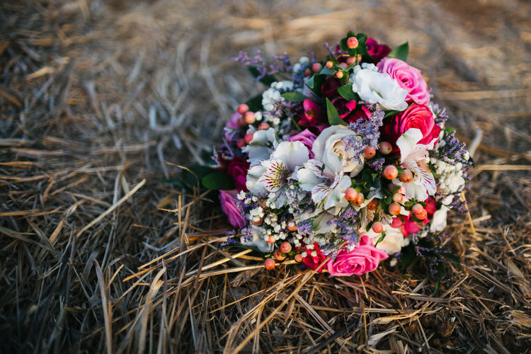 Beauty In Nature Bouquet Close-up Flower Flower Head Flowers Colourful Freshness Multi Colored No People Outdoors Plant Wedding Bouquet