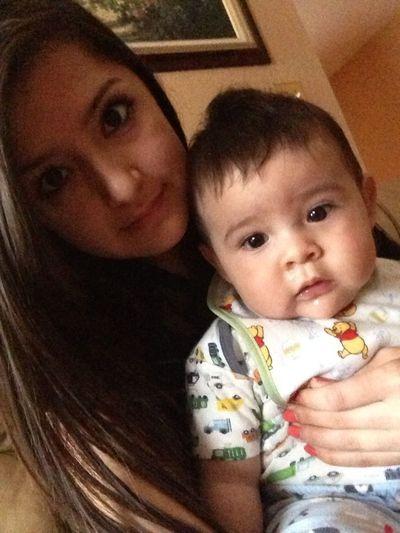 With My Baby Nephew! (: