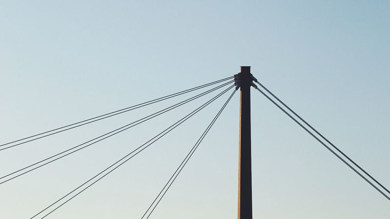 Cable Sky Outdoors Day No People Telephone Line Nature Vscocam Minimalism Minimalistic 16x9photography