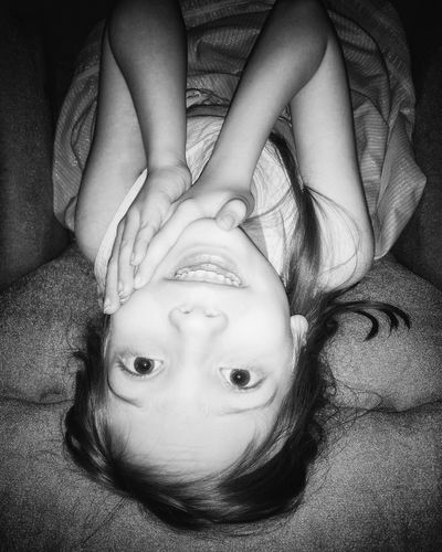 she loves mommy kisses 🌈 Kids Of EyeEm Pretty Pretty Girl Beauty Looking Up Looking At Camera Cuddles Looking Illuminated Poster Watching Hug Cute Sweet Face Smile Treasure Hands Eyes Blackandwhite Monochrome Girl Tenderness Portrait Looking At Camera Lying Down Close-up Upside Down Children Innocence