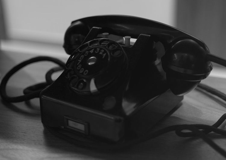 Antique Close-up Connection Indoors  No People Old-fashioned Technology Telephone Telephone Receiver Vintage Phone VintagePhone Blackandwhite Black & White Blackandwhite Photography Instameet