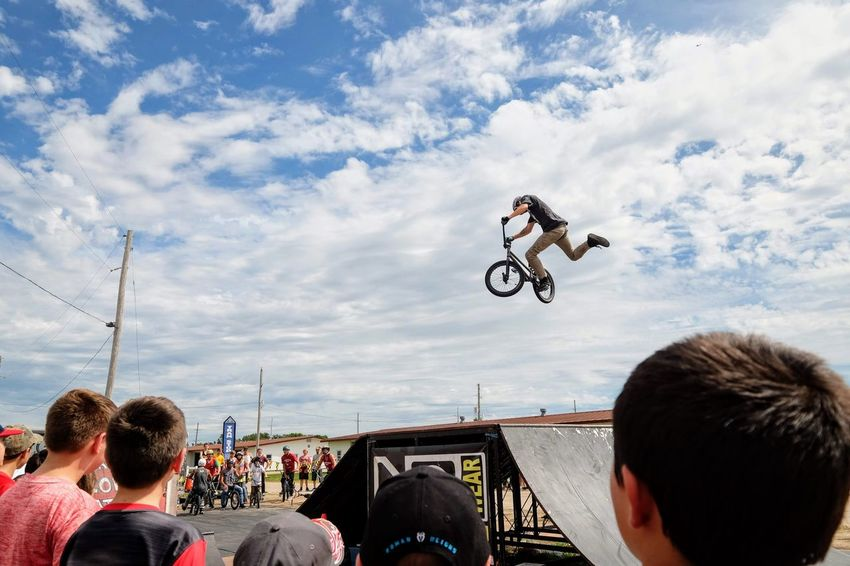 Nowear BMX Team Nebraska State Fair September 1, 2018 Grand Island, Nebraska Camera Work Check This Out Composition Event EyeEm Best Shots FUJIFILM X-T1 Fujinon 10-24mm F4 Getty Images Grand Island, Nebraska Nebraska State Fair NowearBMX Photojournalism Stunt Action Adult Bicycle Bmx  Cloud - Sky Day Extreme Sports Eye For Photography Eyeforphotography Freestyle Group Of People Headshot Land Vehicle Leisure Activity Lifestyles Men Mid-air Mode Of Transportation Motion Nature Outdoors People Real People Rear View S.ramos September 2018 Skill  Sky Spectator Sport Transportation Tricks Watching