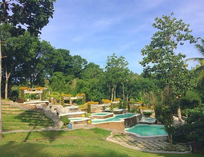 Pocket pools Shercon Batangas Philippines Pool Swimming Pool Shercon Summer Tree Water Swimming Pool Luxury Patio Summer Front Or Back Yard Sky Sun Lounger Blooming Growing Flowerbed