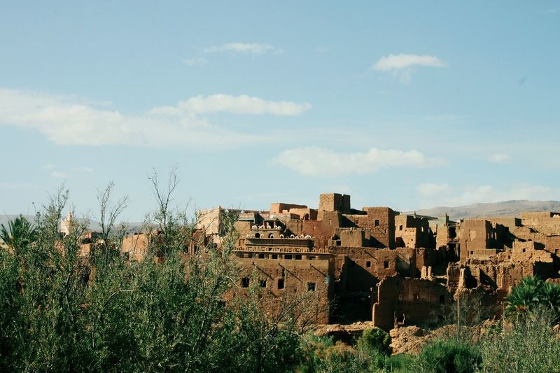 historic home in Morocco EyeEm Selects City Sky Architecture Building Exterior Built Structure Cloud - Sky Castle Old Ruin The Past Ancient Civilization Ancient Historic Archaeology Ancient Rome History