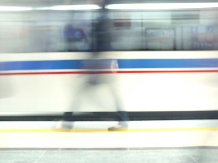 Fade Out Again Subway People Subway Station Subway Photography Going Nowhere Fast Photography In Motion The Street Photographer - 2016 EyeEm Awards Abstract Abstract Photography , Need For Speed