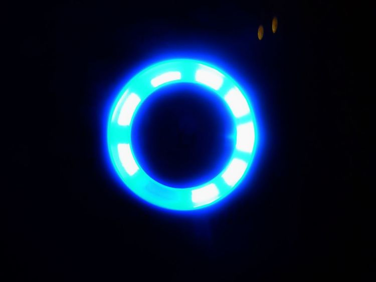 LED LED Light Appliance Blue Blue Led Electricity  Fuel And Power Generation Illuminated Led Lights  No People Space Technology Wi Fi Wifi