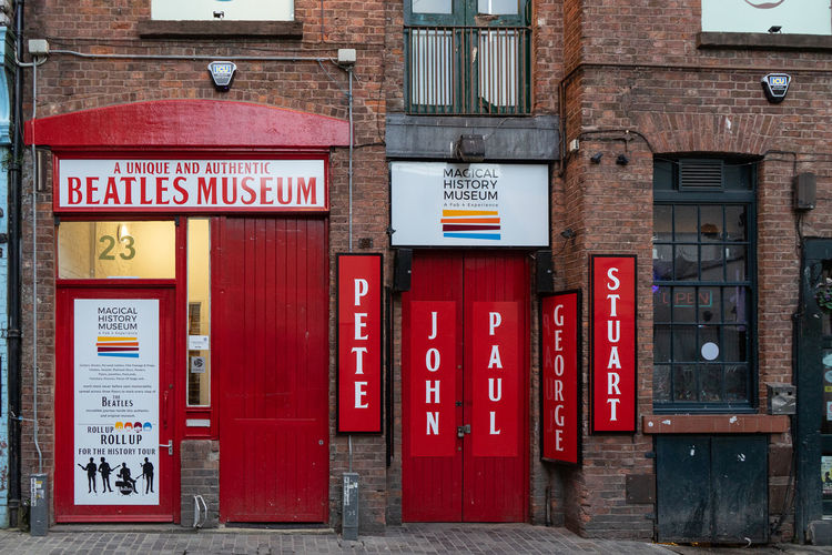 Beatles Beatles Museum Liverpool Museum Legend John Lennon Music Doorknob Front Door Closed Closed Door Entryway